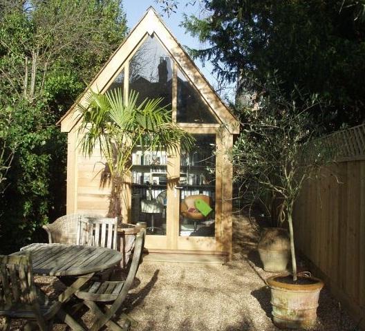 Studio i trädgården