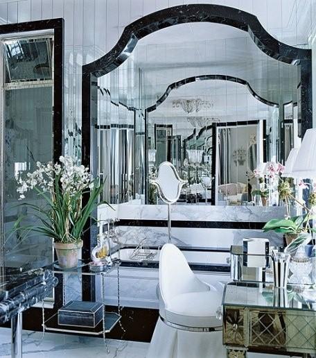 Art Deco badrum