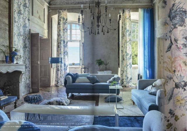 Designers guild scandinavian blues