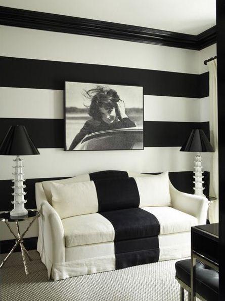 soffa svart vitt