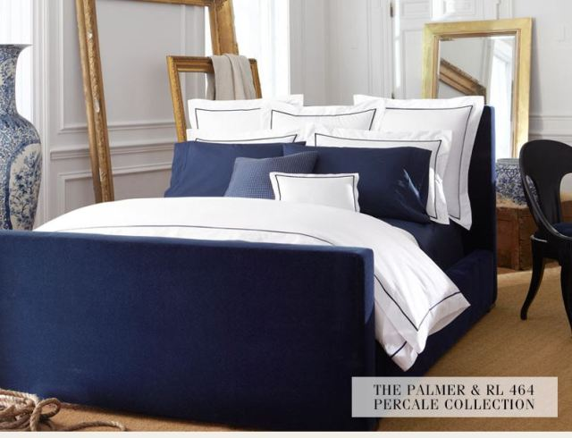 The Palmer and RL 464 Percale collection