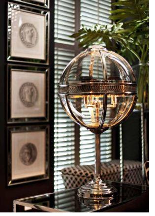 bordslampa klot