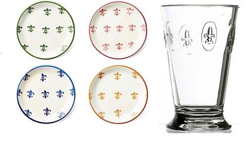 Glas och tallrikar