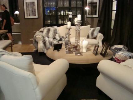 Flamant Soffa beige linne1303 €