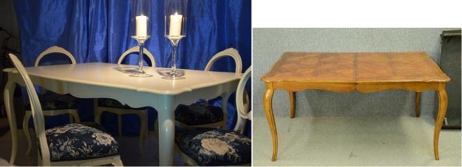 matsalsbord före och efter
