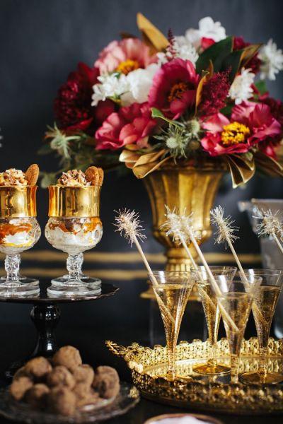 Champagnebricka
