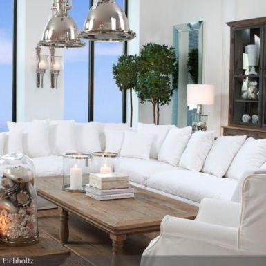 Eicholtz vit soffa