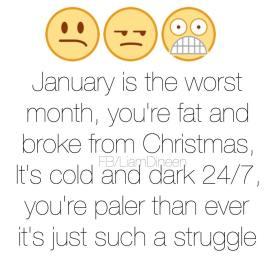 Hur januari är