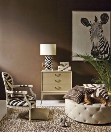 zebra i centrum