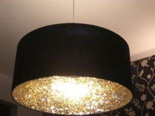 Lampa med glitter